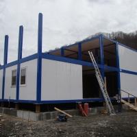 Административное здание на строительном объекте_1